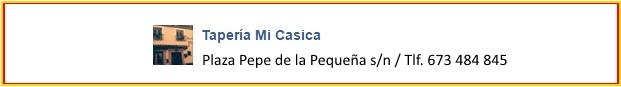 Banner Taperia Mi Casica