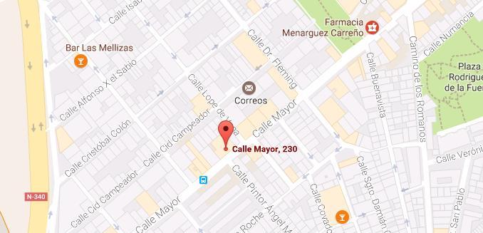 lavadenria lavaPIu mapa google maps
