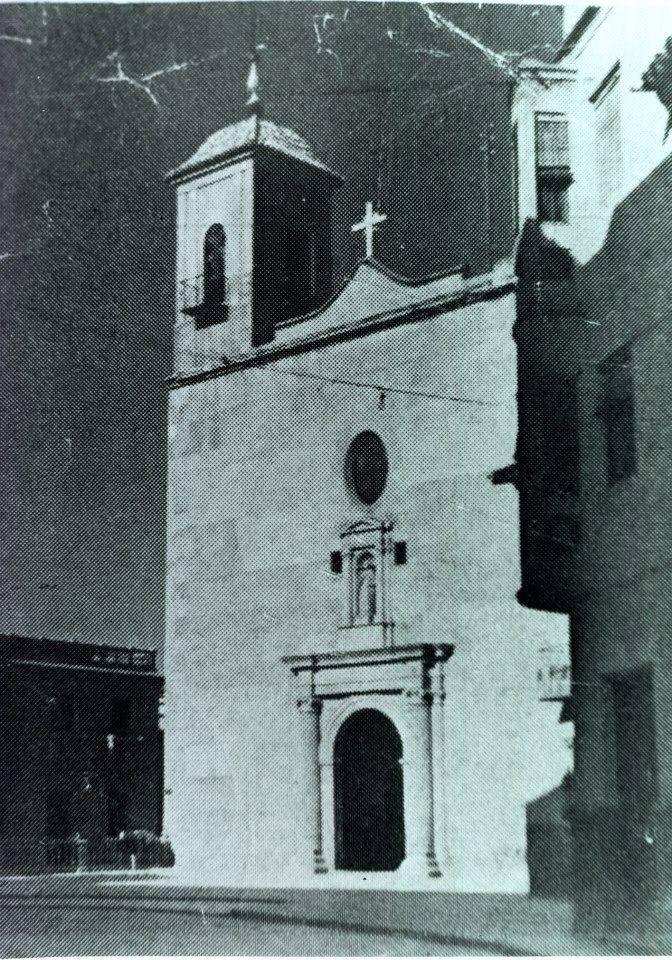 antigua iglesia de san pedro de alcantrilla