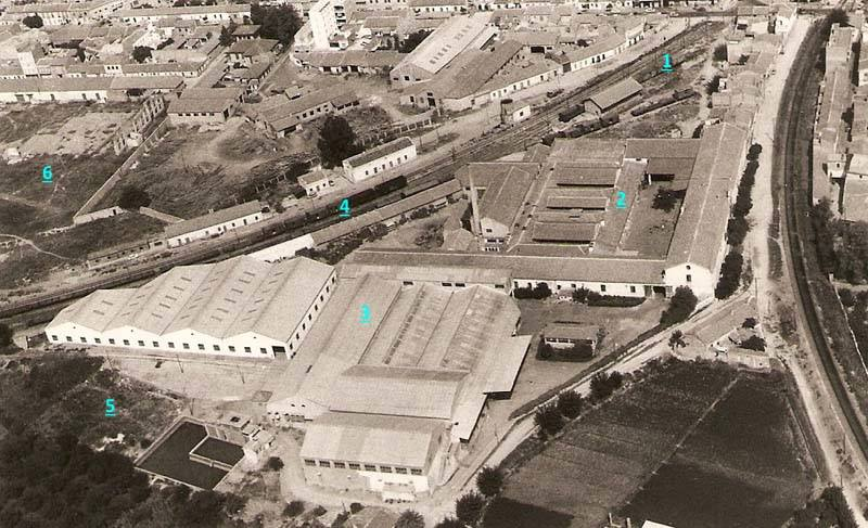 foto aérea zona entrevias númerada