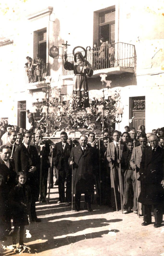 procesion san francisco con lorente yufera