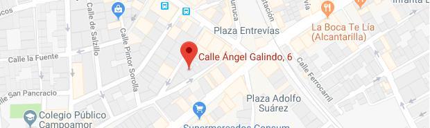 calle angel galindo